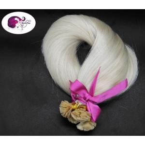 White blonde 60C - Keratin...